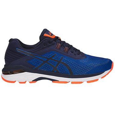 Asics Gt 2000 6 For Men In Imperial Indigo Blue Shocking Orange Asics Running Shoes For Men Asics Gt