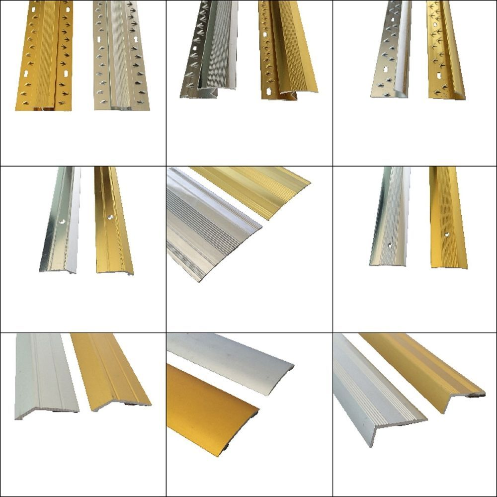 Carpet Metal Cover Strip Door Bar Trim - Threshold - Brass/Silver in Home  sc 1 st  Pinterest : threshold door bar - pezcame.com