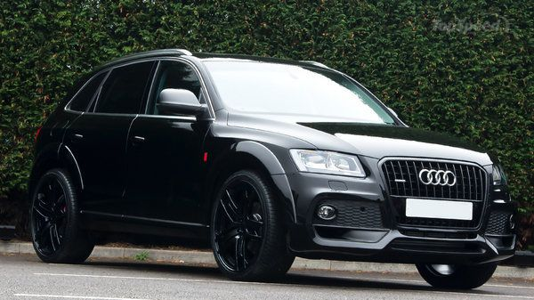 Image result for black audi q5 with black rims