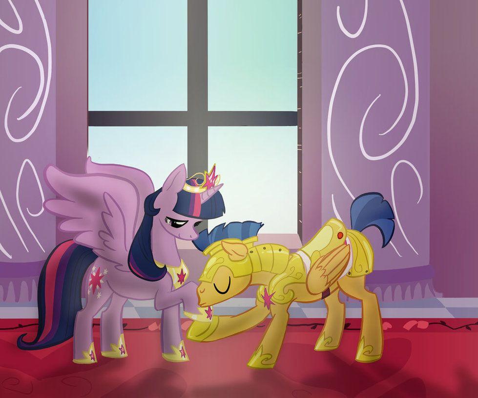my little pony twilight and flash meet