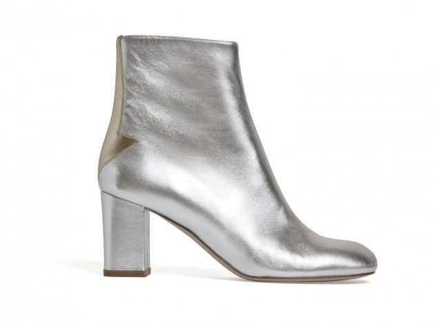 This is a modern take on the 70s Go Go Boot. This isn't as large as the original boot but is still sleek and smooth. Also these seems more modern with the silver color tone.  Ryan Kauffman  April 7th 2016
