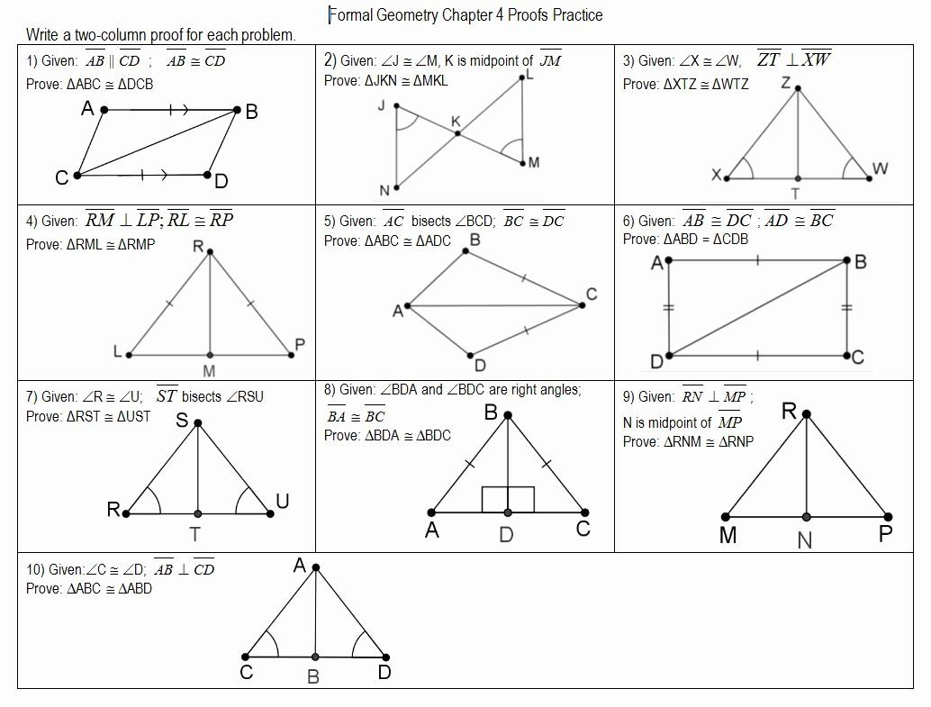 Congruent Triangles Worksheet Answers Beautiful Proving