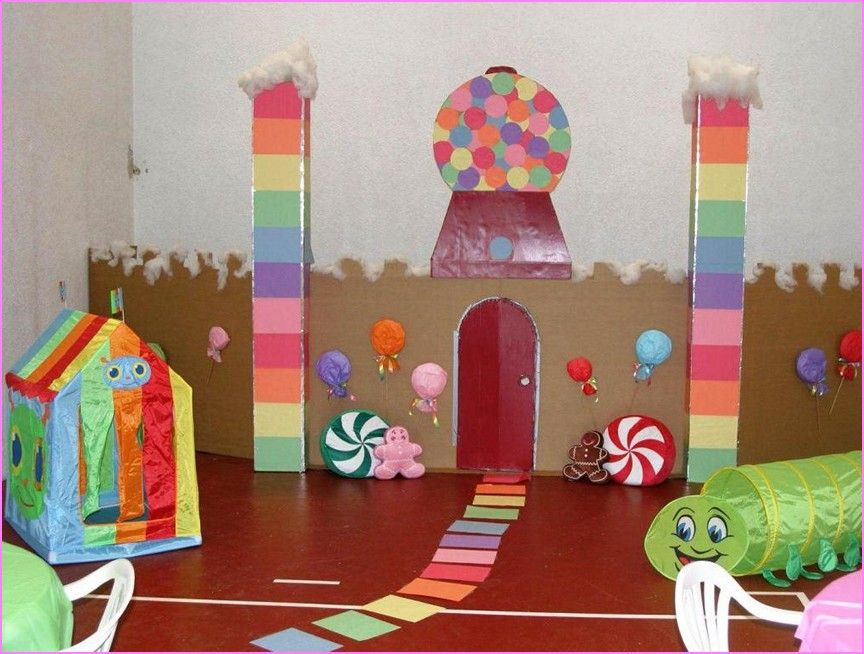 Candyland Christmas Door Decoration Ideas : Candyland party decorations ideas birthday