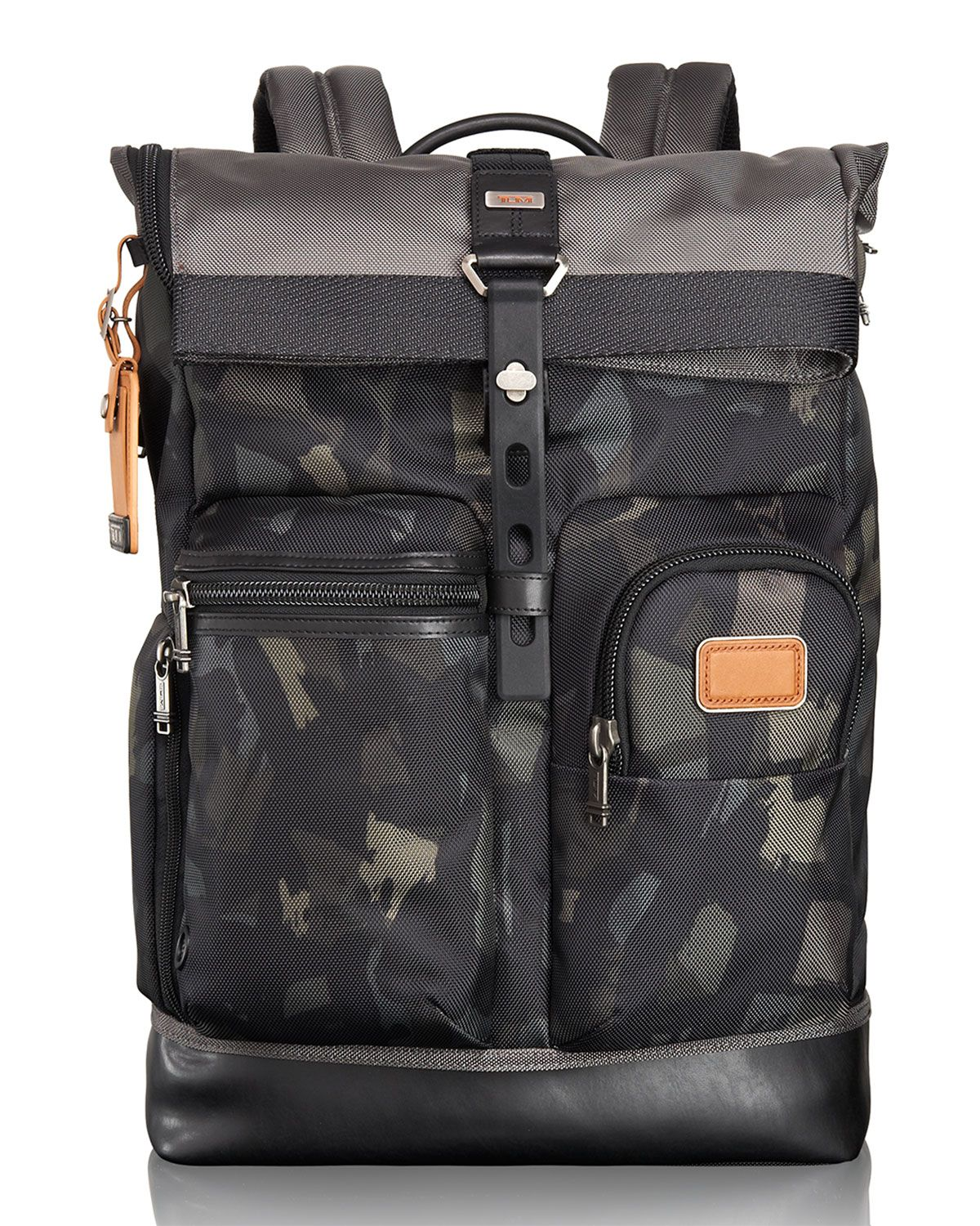 d42621af1 Tumi Alpha Bravo Gray/Camo Luke Roll-Top Backpack Tote in 2019 ...