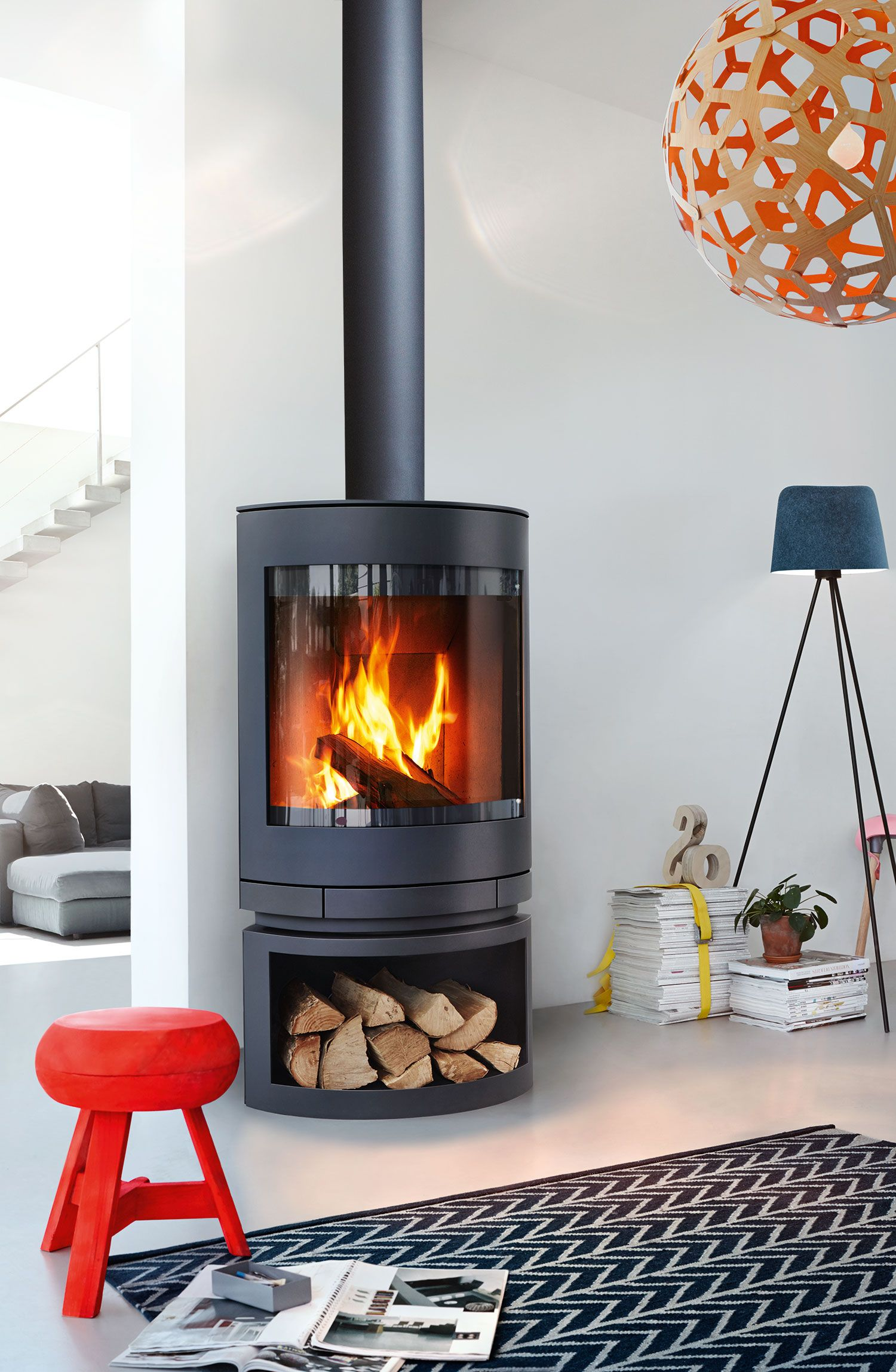 The Super Efficient Award Winning Emotion Fireplace By