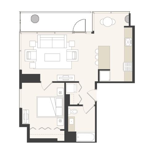 Floor plans eight o five lasalle