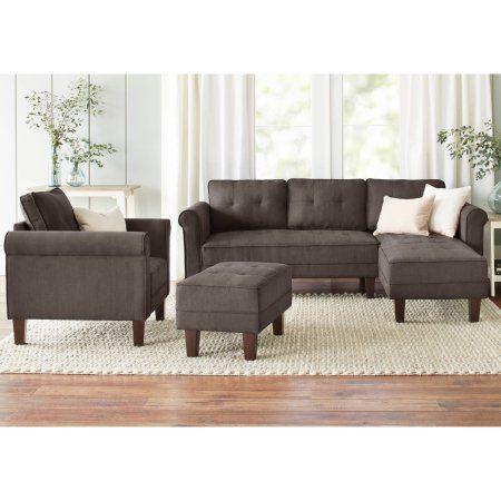 10 Spring Street Ashton Microfiber Sofa Bed Walmart Com Sofa Bed Walmart Sofa Inspiration Microfiber Sofa