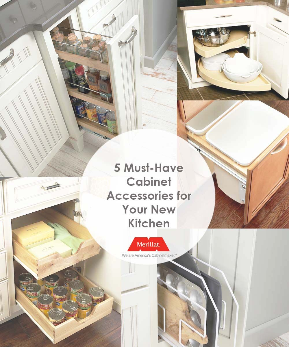 5 Must-Have Cabinet Accessories for Your New Kitchen - http://www ...