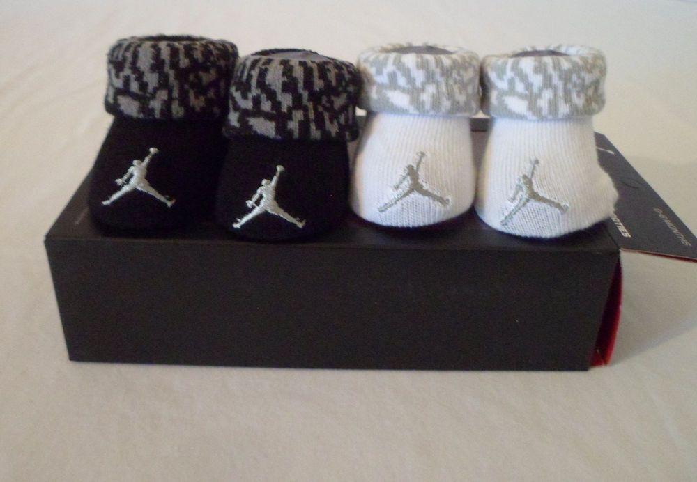 66d10257b nwt  nike air jordan  baby   boys infant crib  shoes booties socks lot 0-6m  newborn from  0.9