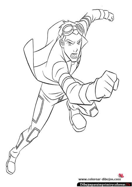 Dibujos de Generador Rex para Imprimir y Colorear | Man of Action ...