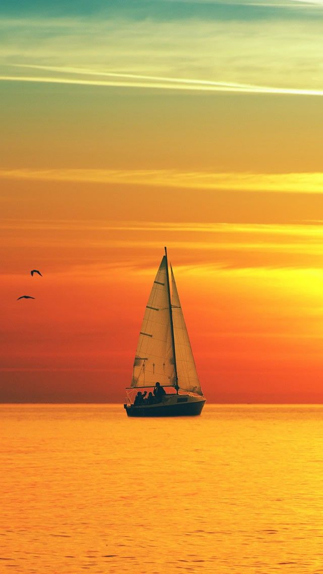 Sailboat Middle Of The Sea 12 Beautiful Scenery Photography