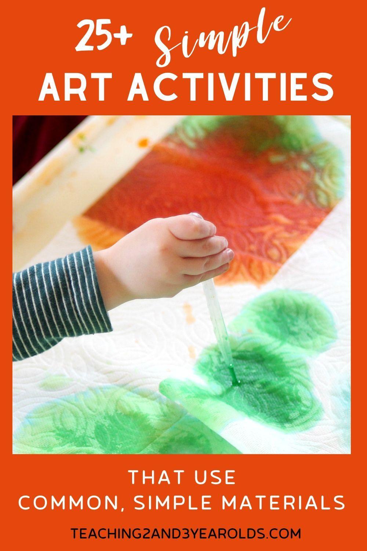 Photo of Simple Art Activities for Kids