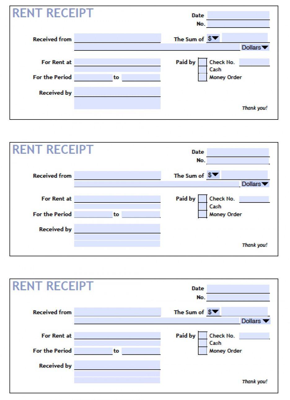 Explore Our Free Rent Receipt Templates Receipt Template Invoice Template Receipt