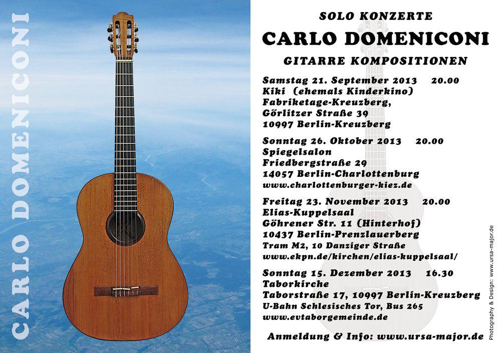 Solo Konzerte Programm