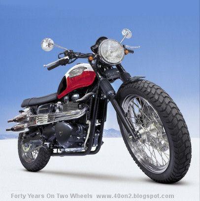 Triumph Scrambler 2007 - Clássicos Mania