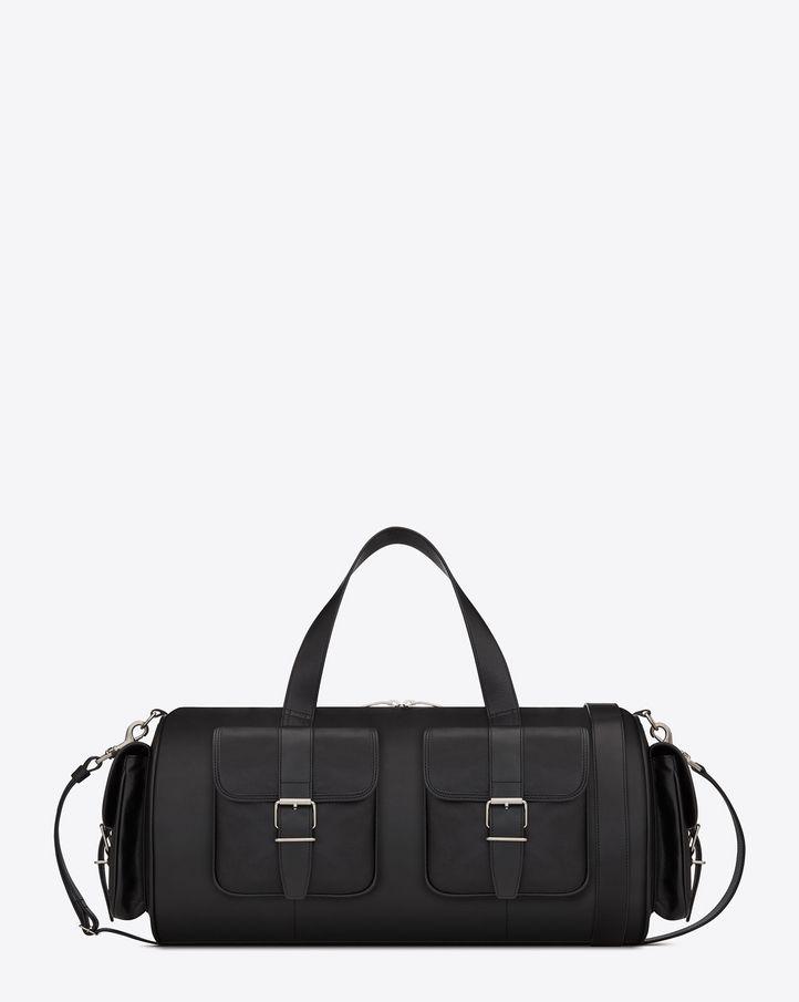 8b6ba40bc48 Yves Saint Laurent - Rock Sport Bag in Black Leather | Men's Fashion ...