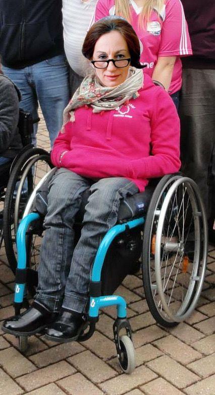 Paraplegic women wheelchairs apologise