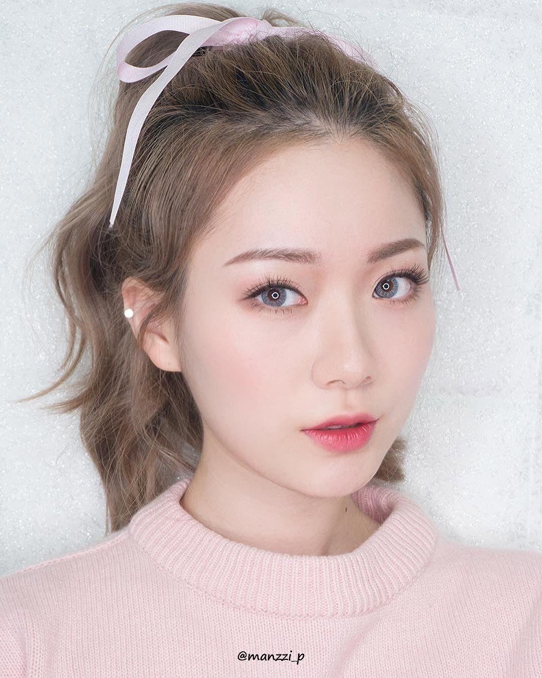 Korean wedding decoration ideas  Korean Make Up Looks I Pin By Aki Warinda  eye make up  Pinterest
