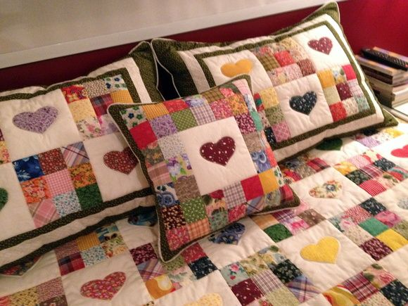 Colcha patch cora es craft ideas - Colchas patchwork juveniles ...