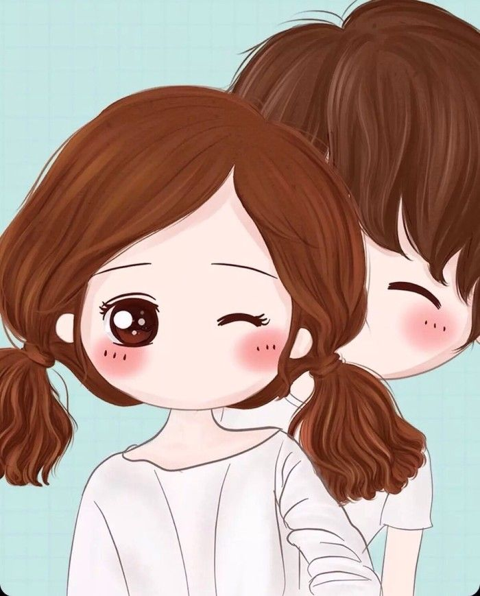 Euphoyaia Save Me Cute Couple Wallpaper Cartoon Girl Drawing Anime Art Beautiful
