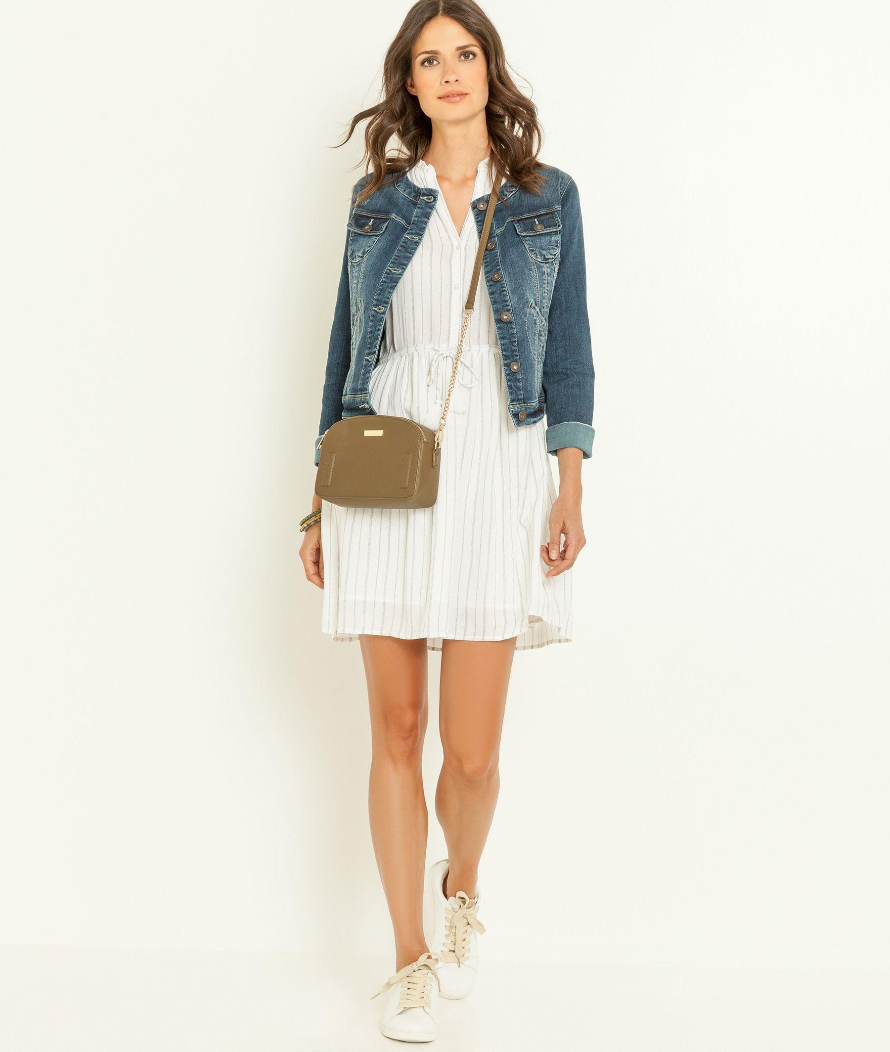 Mode Gdm Jeans Femme Veste Rond Grain Pinterest De Col qxZBFxz