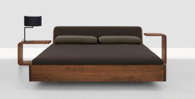Stunning Simple Wood Bed Frame Designs Of Wooden Composition