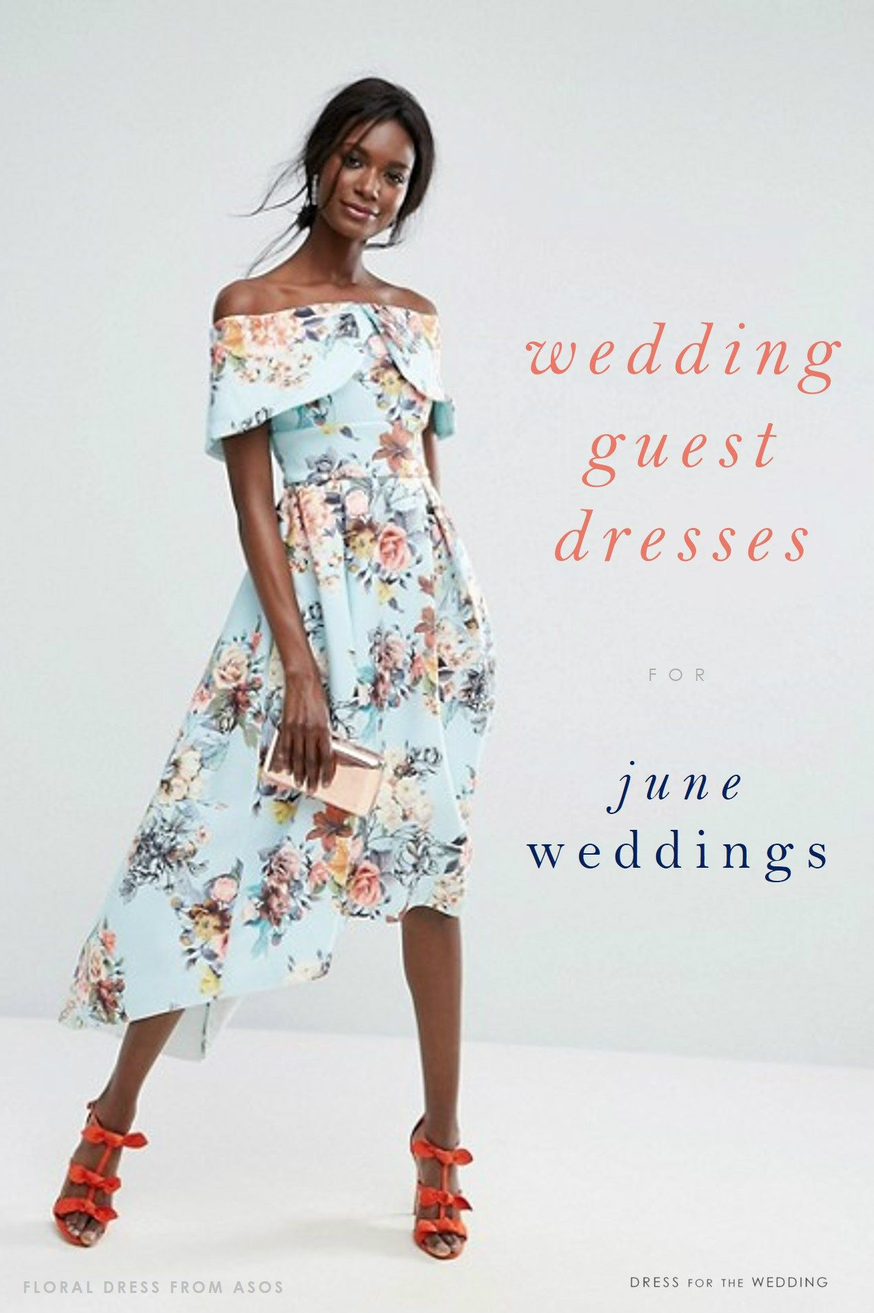 88856af9f950a Tons of ideas for wedding guest dresses for June 2017 weddings, including  tips on what to wear to June weddings ordered by each type of wedding dress  code!