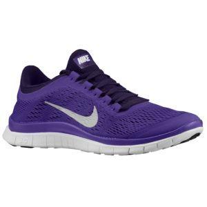 Chaussures Nike Free 3.0 V5 Travestissement Des Pièces Maîtresses De Mariage Violet Foncé Et Blanc