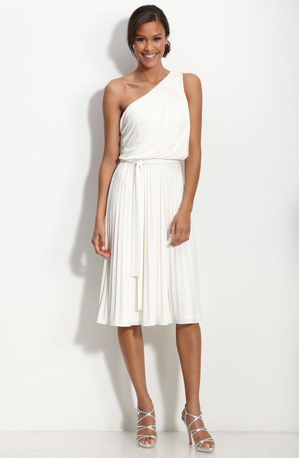 96a54d8a7727 So pretty! Suzi Chin for Maggy Boutique One Shoulder Jersey Dress ...