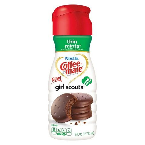 Coffee-Mate Girl Scout Thin Mints Creamer 16 oz