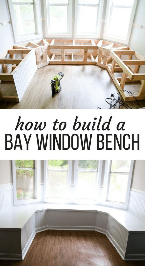 Photo of DIY Bay Window Bench (AKA: The Banquette is FINISHED!)