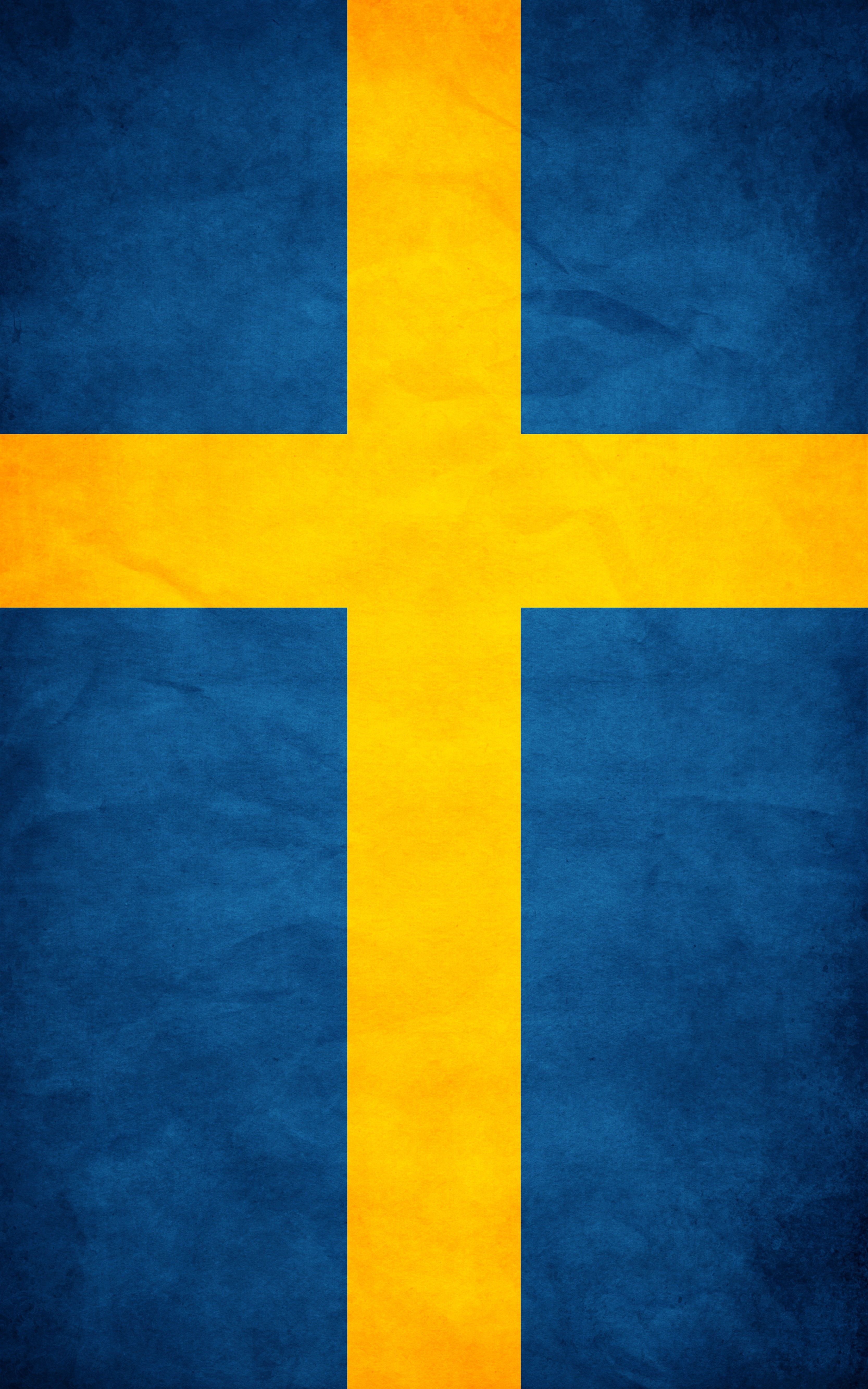 Swedish Flag Swedish Flag Wallpaper Background Design Sweden Flag