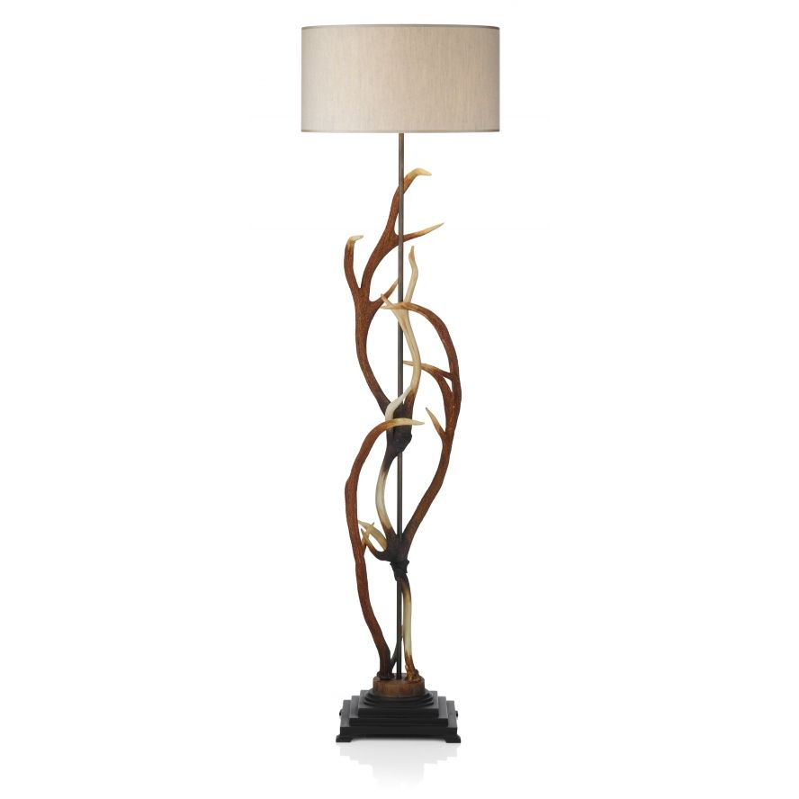 Neat artistic floor lamp | Lamps-Floor | Pinterest | David hunt ... for Unique Rustic Floor Lamps  181obs