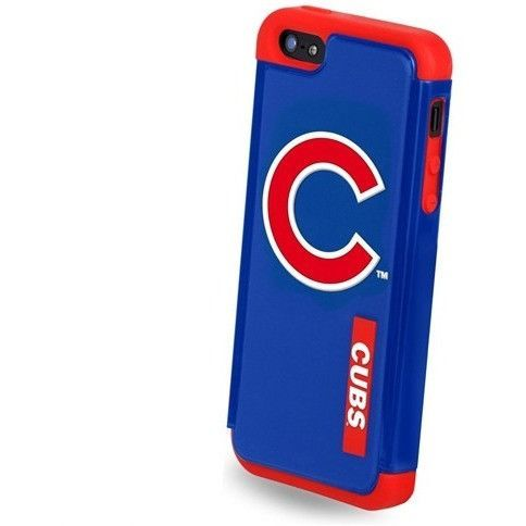 Chicago Cubs Dual Hybrid 2-Piece Ai5 Iphone 5 Cover - Tpu