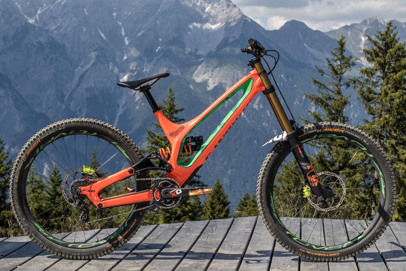 Crankworx Innsbruck 2018 Fahrrad