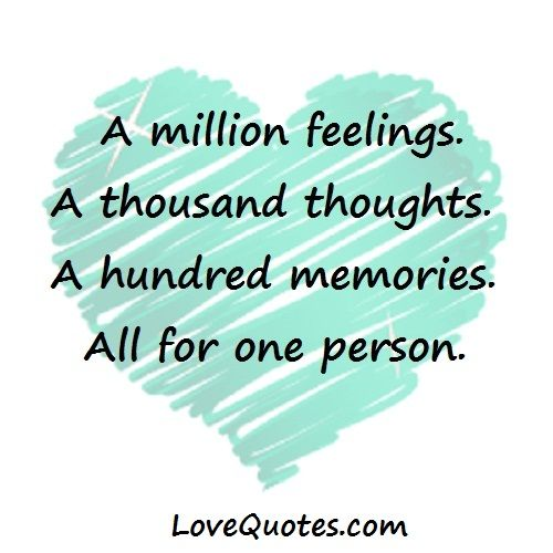 A Million Feelings Love Quotes Feelings Beautiful Quotes
