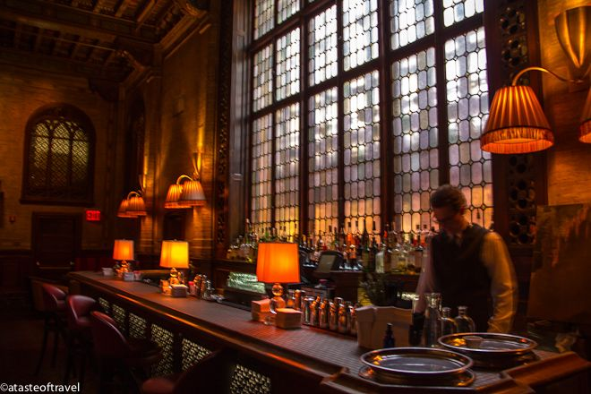 The Campbell Apartment At Grand Central Station