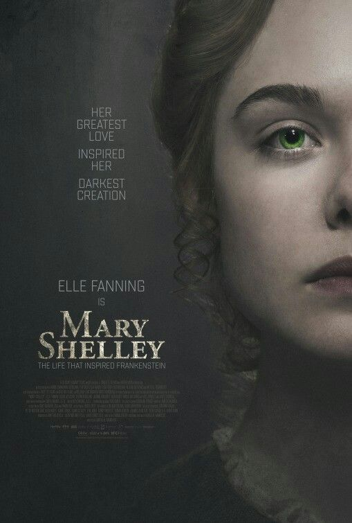 Mary Shelley Movie Poster Movieposter Scifi Moviereview