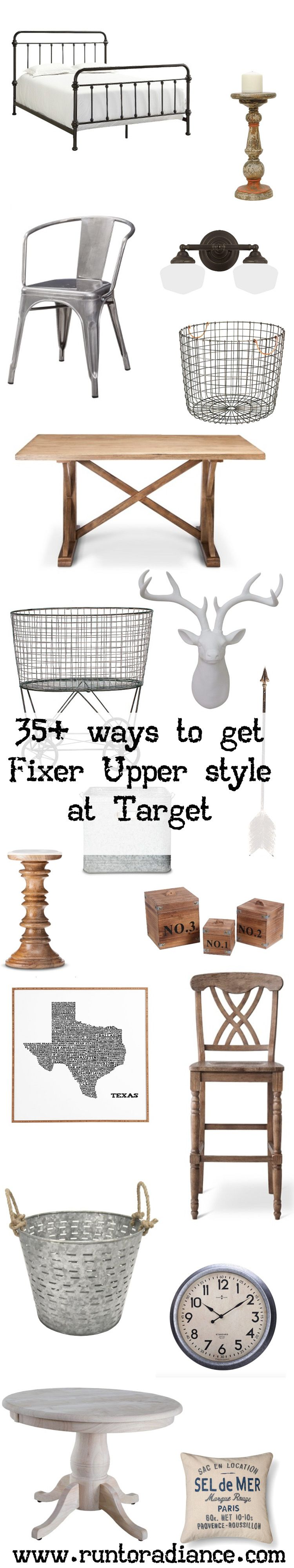 fixer upper style 35 target items that will get you the fixer upper look fixer upper target. Black Bedroom Furniture Sets. Home Design Ideas
