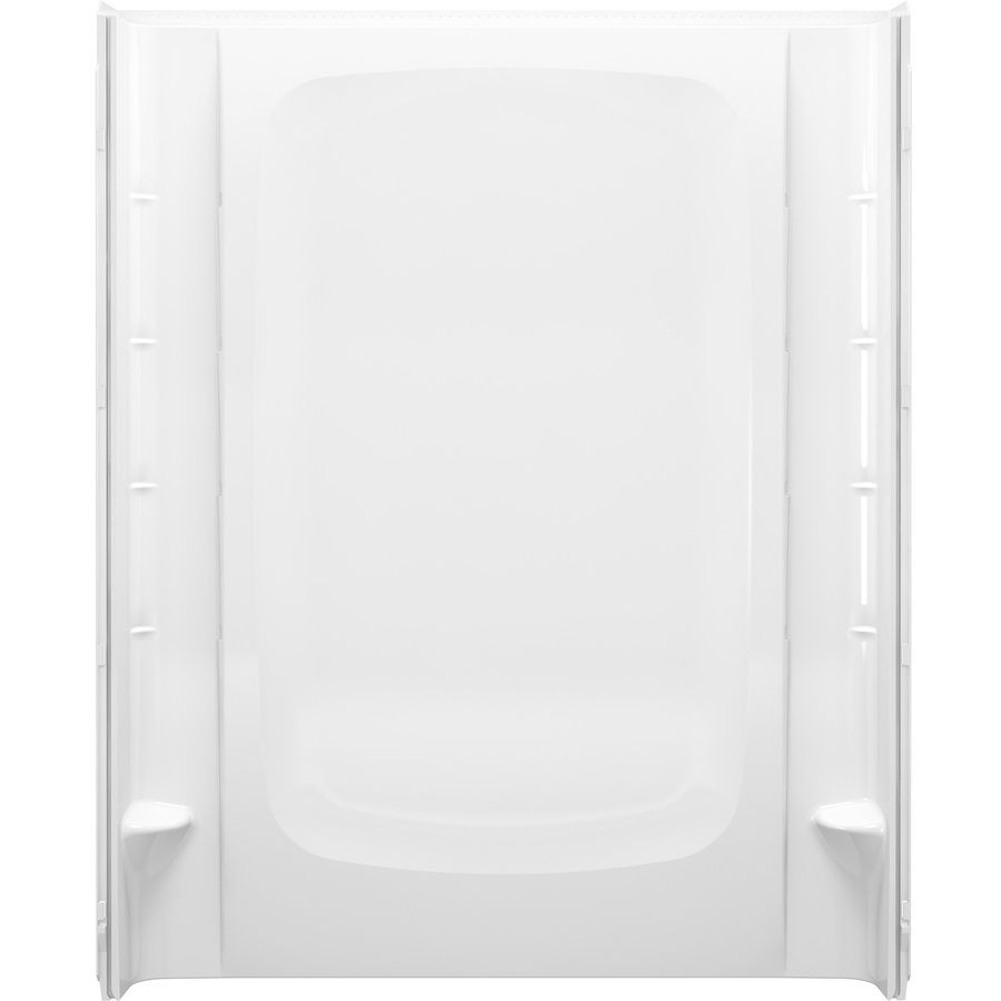 Sterling STOREplus White Shower Wall Surround Back Panel (Common: 60-in x 3-in; Actual: 72.5-in x 60-in x 3-in)