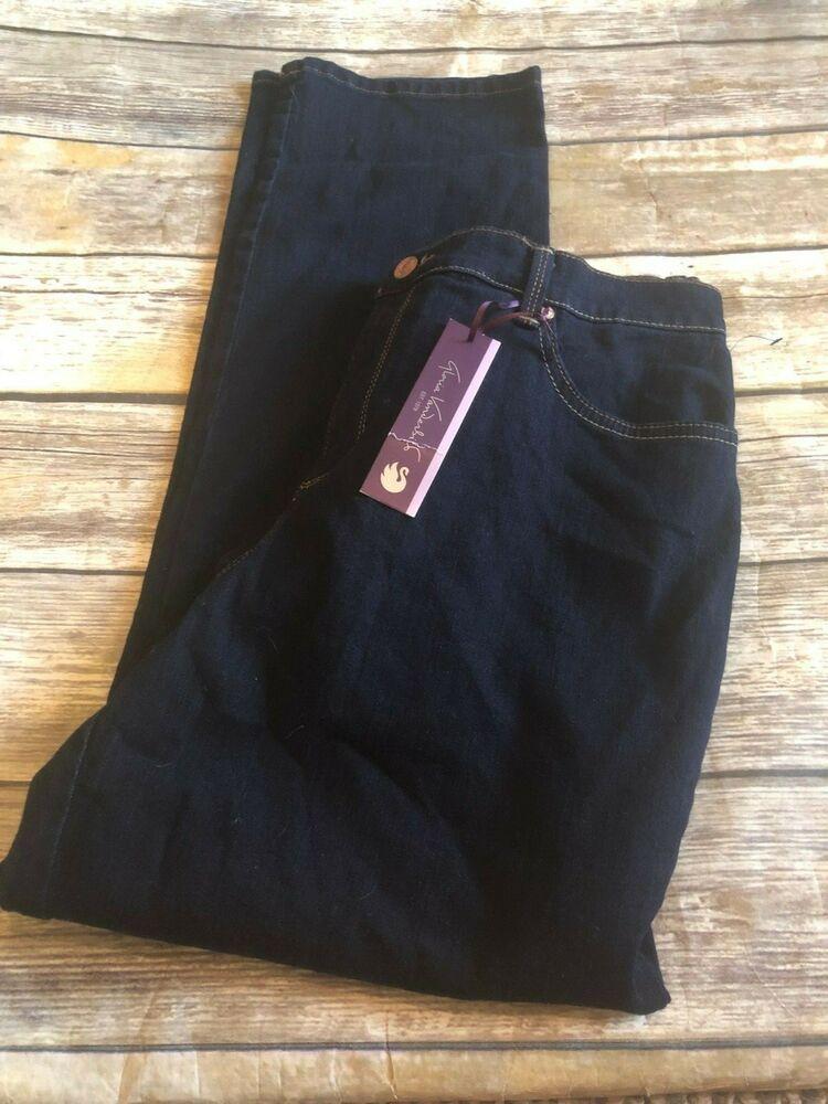 Gloria Vanderbilt Amanda Size 12 Short Jeans Dark Wash Heritage Fit
