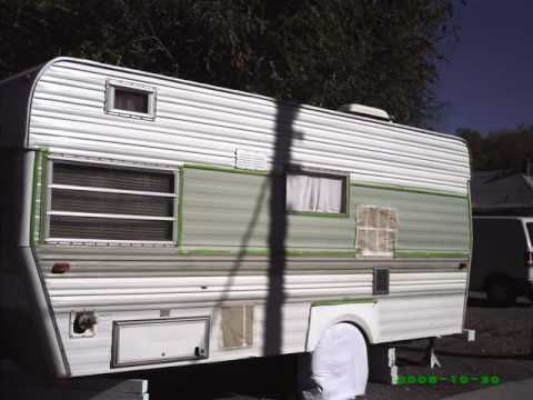 1971 Terry Repairs Part 4b Vintage Camper Vintage Trailer Repair