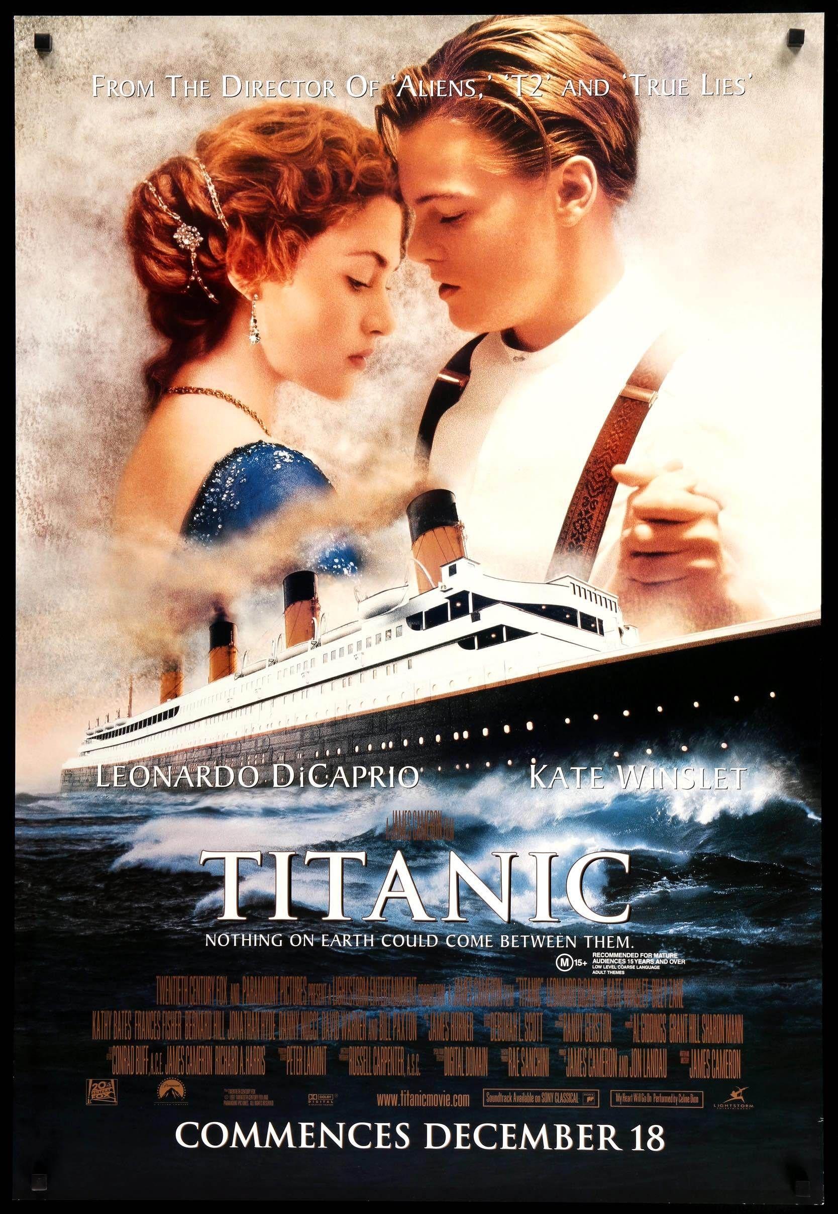 Titanic 1997 Titanic Movie Titanic Movie Poster Best Movie Posters