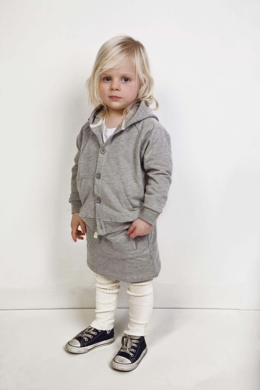 Kinderkleding Kids.Gray Label Hooded Sweater Skirt Kids Kinderen Kinderkleding
