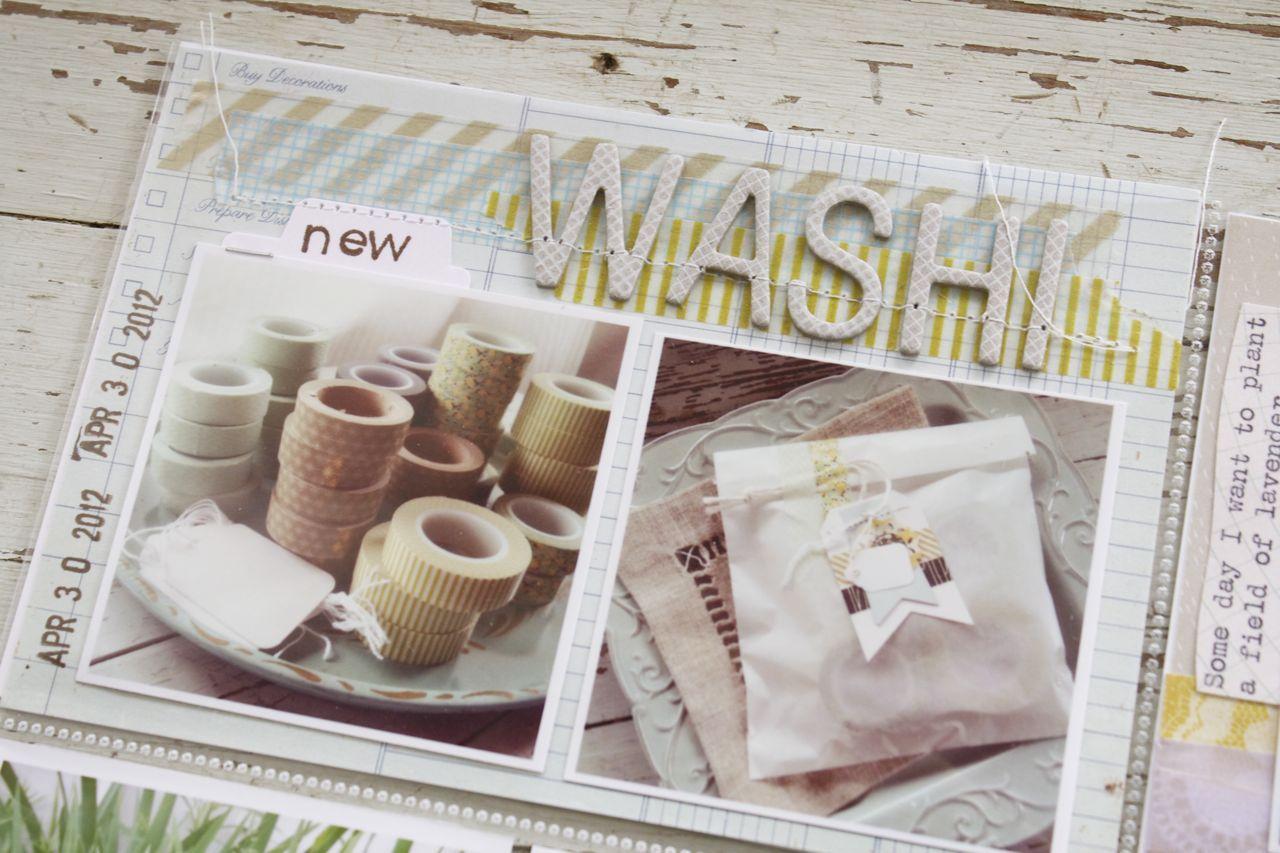Mish Mash: LOVE washi