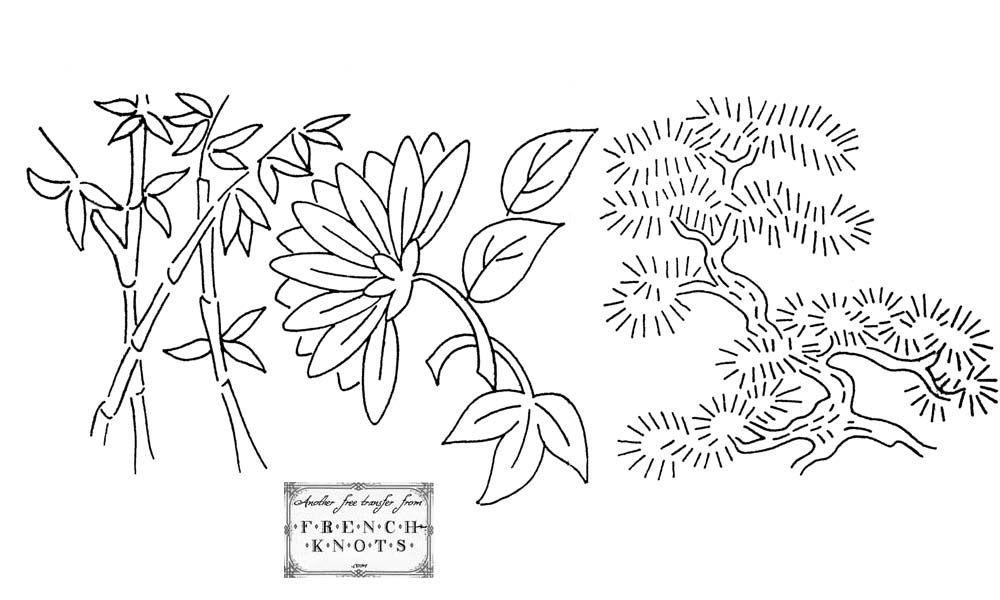 bonsai | FRENCH KNOT | Pinterest | Patrones y Dibujo
