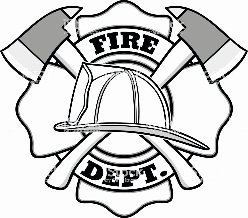 28 Fire Department Maltese Cross Coloring Page in 2020