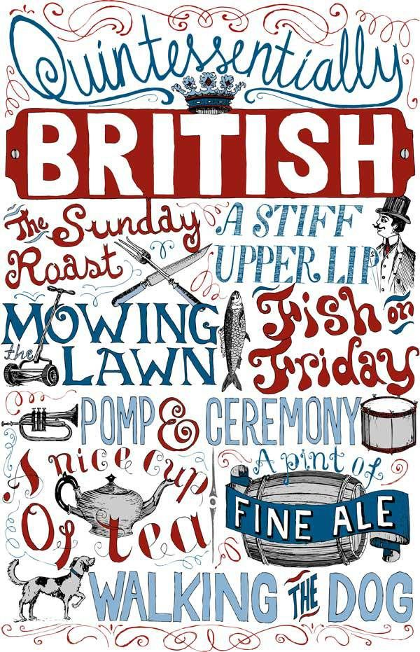 Quintessentially British Poster
