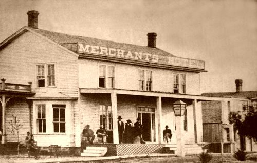 Abilene Kansas Merchant Hotel #Wild #West #History historic ...
