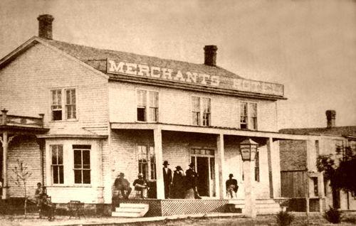 Abilene Kansas Merchant Hotel Wild West History Historic Cowtown